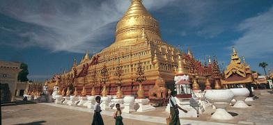 Shwezigon Pagoda Pagan